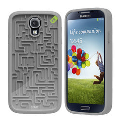 PureGear Amazing Retro Game Case for Samsung Galaxy S4 (Grey)
