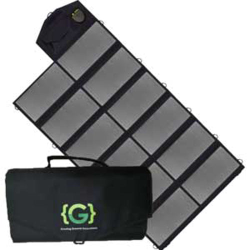 80W Folding Solar Charger