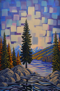 Fall On The Flathead 24X36, Original Painting