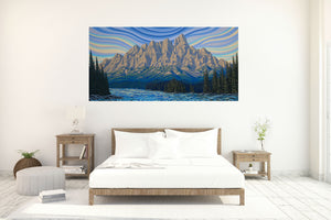 Castle Mountain, Limited Edition Print