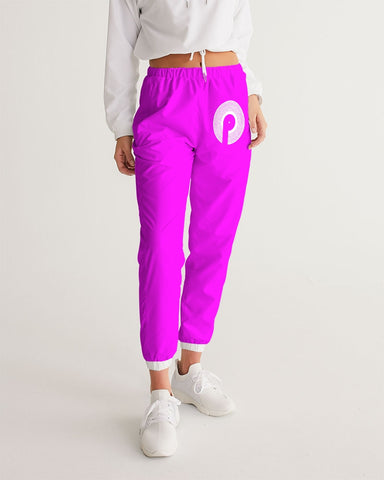 Women's Track Pants-Purple