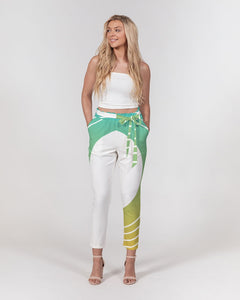 Women's Belted Tapered Pants-P Gradient-8