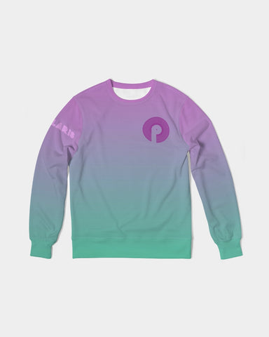 Men's Classic French Terry Crewneck Pullover-Iridescent
