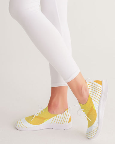 Women's Lace Up Flyknit Shoe- Golden Era