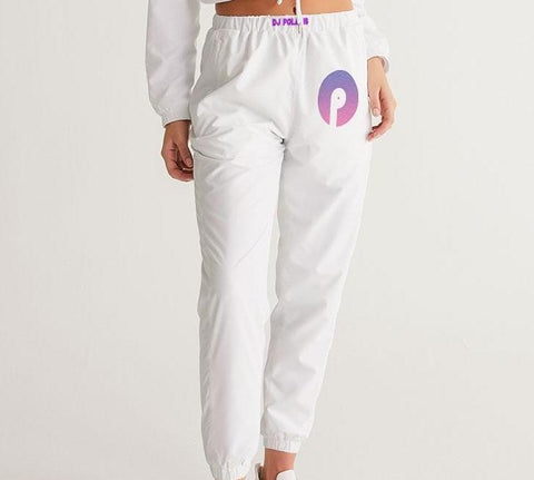 Women's Track Pants-Purple Gradient