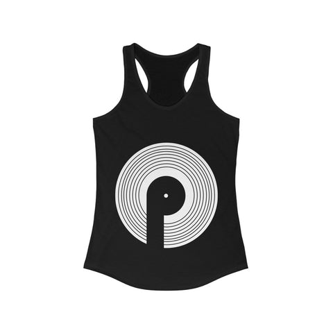 Polaris Women's Ideal Racerback Tank- White Logo