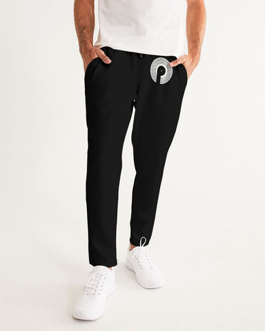 Polaris Men's Joggers- Black/White