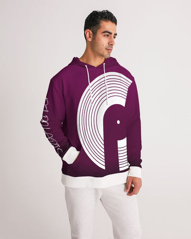 Lux Men's Hoodie- Light Plum