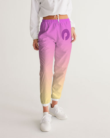 Women's Track Pants-Purple Rain