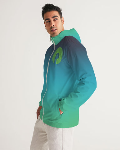Green Dream Men's Windbreaker