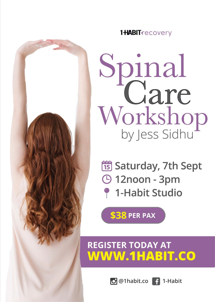 Let's Take Care of Your Spine - A Hands-On Workshop