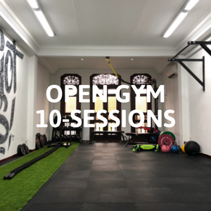10-Sessions Open Gym