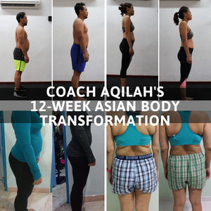 12-Weeks Asian Body Transformation - Month to Month