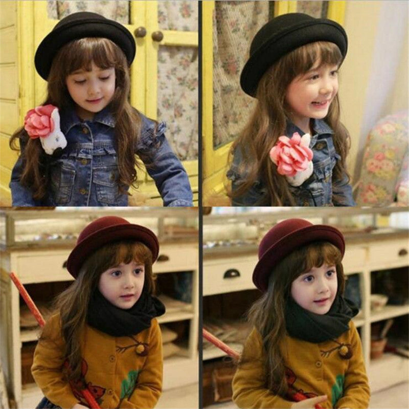 ba0b8321277 Fedora hat for little girls – Your Simple City