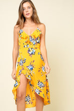 Load image into Gallery viewer, Floral Print Romper Dress
