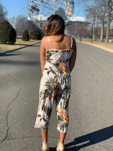 Load image into Gallery viewer, Khaki Front Bow Tie Jumpsuit