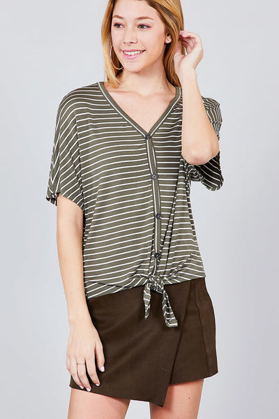 Super Soft Short Dolman Sleeve Tee