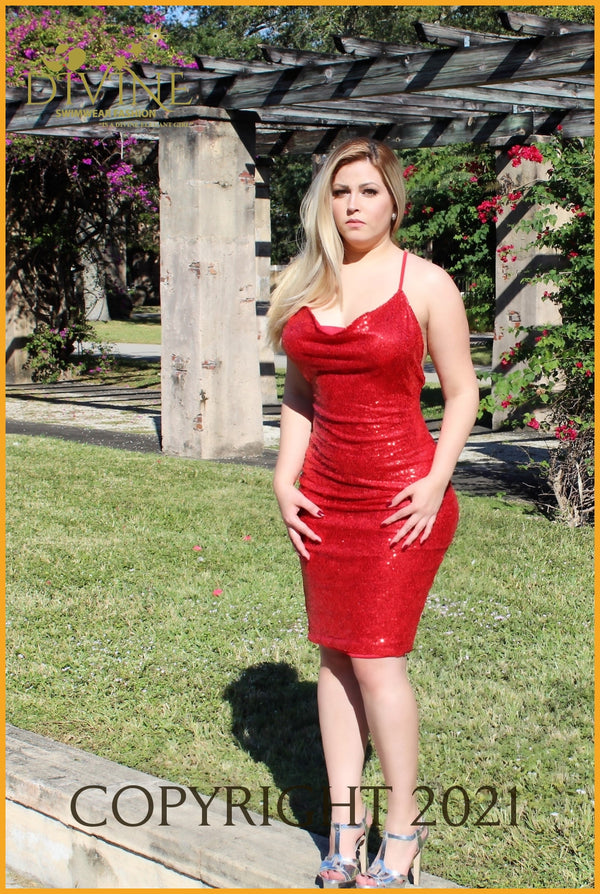 Life In Red Dress Medium / Trending