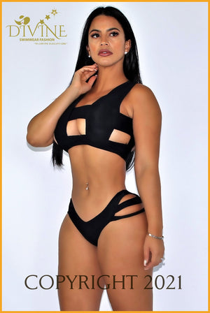 Spiderweb Bikini Set