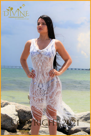 Veil Sea (Cover Up) (White) Cover Ups