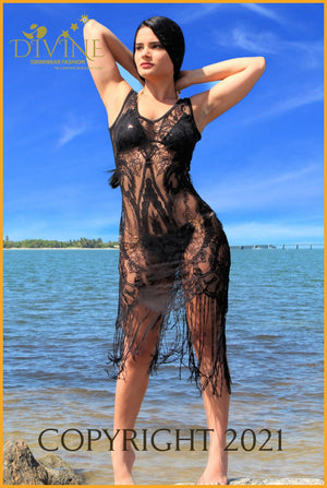 Veil Sea (Cover Up) (Black) Cover Ups