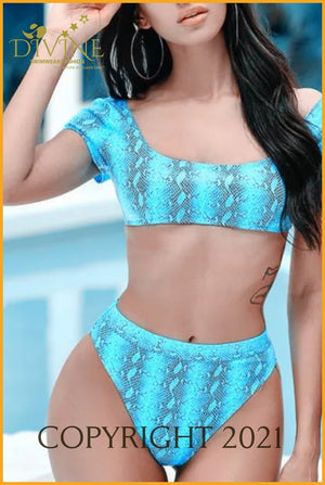 2020 Process Bikini Set (Blue)