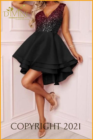 Love Princess Dress (Black And Red) Trending