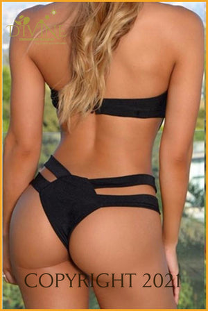 Compromise You Body Monokini Small / Black Monokinis