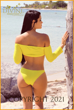Sunshine Bikini Set Medium / Yellow
