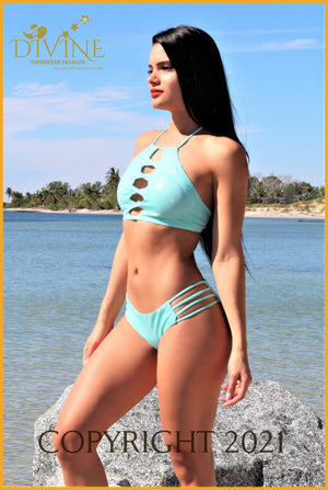 Cartagena Bikini Set (Made In Colombia) Large / Aqua