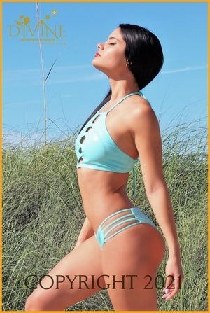 Cartagena Bikini Set (Made In Colombia) Small / Aqua
