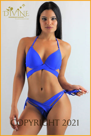 Costa Azul Bikini Set (Blue) Small / Royal Blue