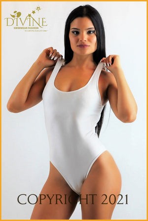 Adrenalin Monokini One Piece (White) Small / White Monokinis