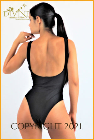 Adrenalin Monokini One Piece (White) Xlarge / Black Monokinis