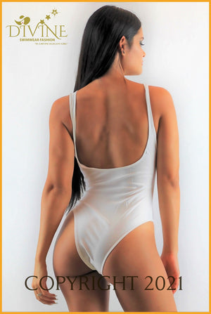 Adrenalin Monokini One Piece (White) Large / White Monokinis