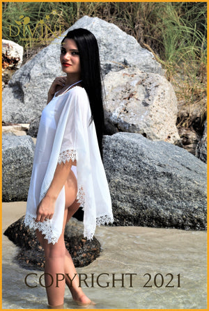 Goddess Of Glass Poncho Top Cover Ups