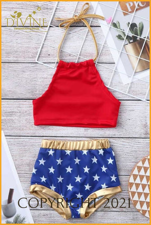 Independent Family Day Bikini Set