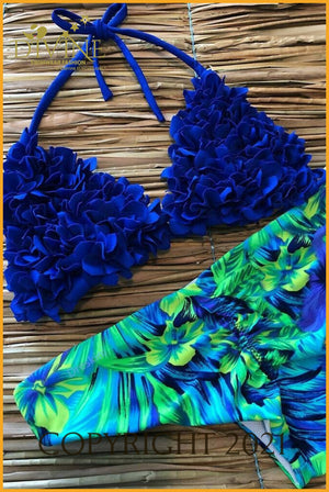 Fashion Divine Bikini Set (Royal Blue)