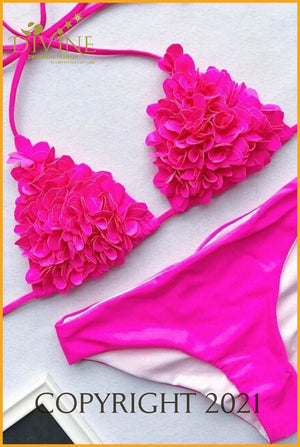 Fashion Divine Bikini Set (Pink)