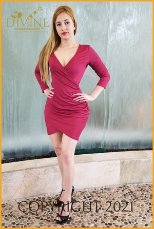Favorite Dress Large / Fuchsia Trending