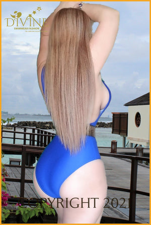 The Blue Princes Monokini One Piece Monokinis