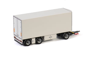 03-2028 | TURNTABLE DRAWBAR | FRIDGE TRAILER - 3 AXLE