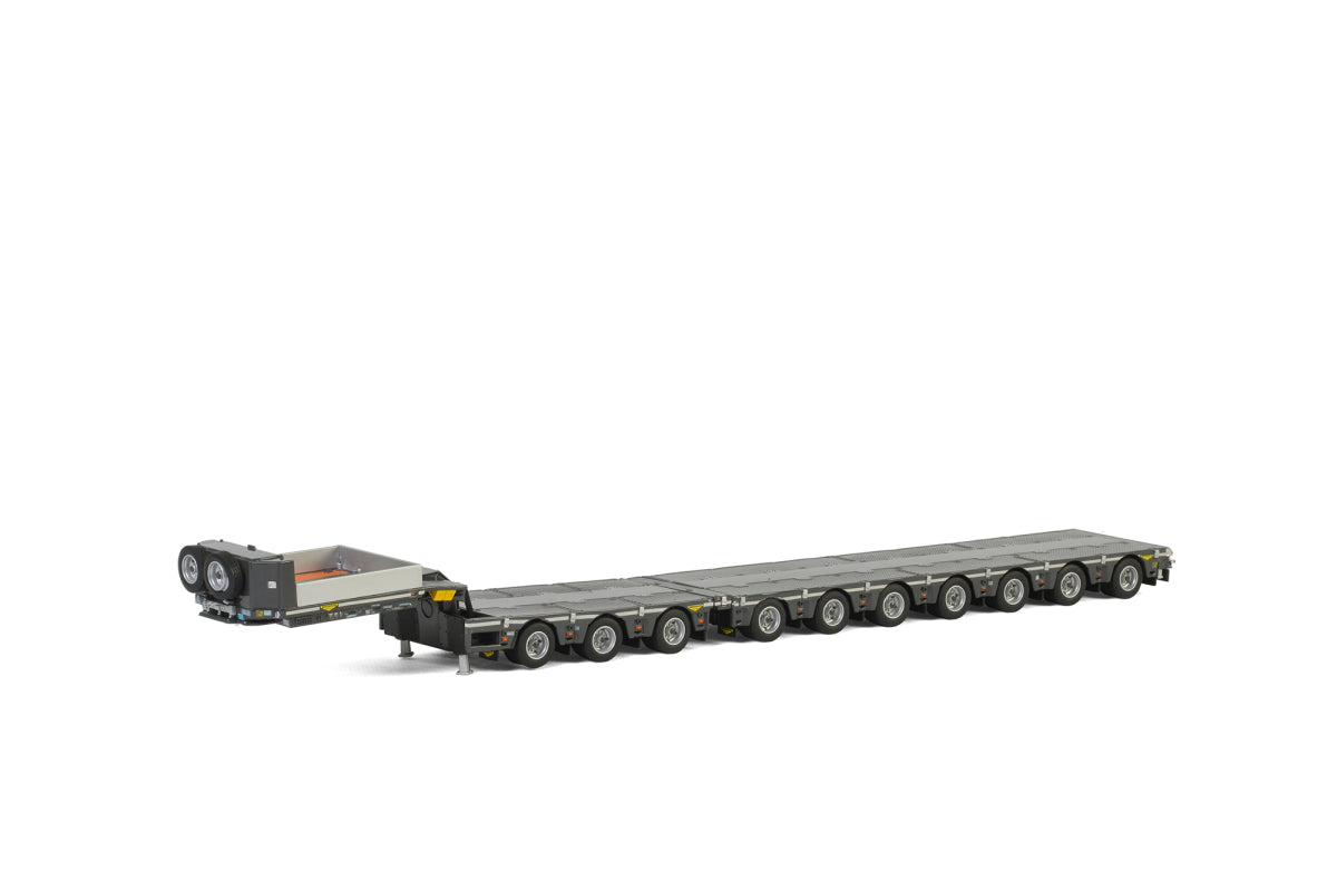 04-2032 | LOW LOADER 7 AXLE DOLLY 3 AXLE BROSHUIS
