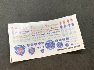 "80415 | Scania ""King of the Road"" Stickers"