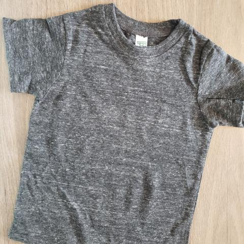 Heathered Grey Toddler Tee w/ Design of Your Choice