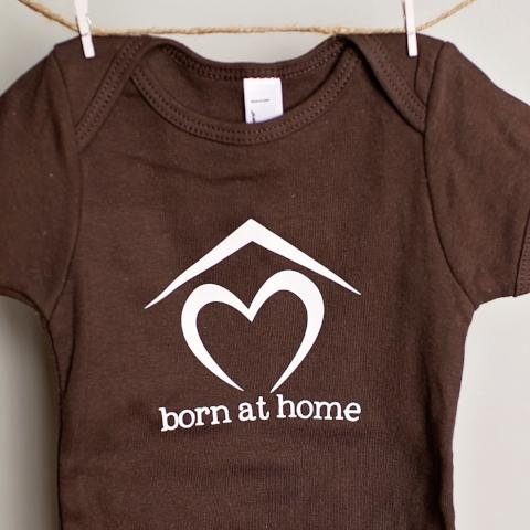 Born at Home One-Piece