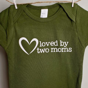 Loved by Two Moms One-Piece