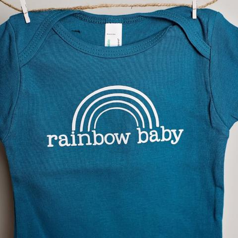 Rainbow Baby One-Piece