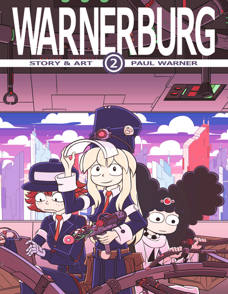 Warnerburg Comic - Book 2 (Trade Paperback)