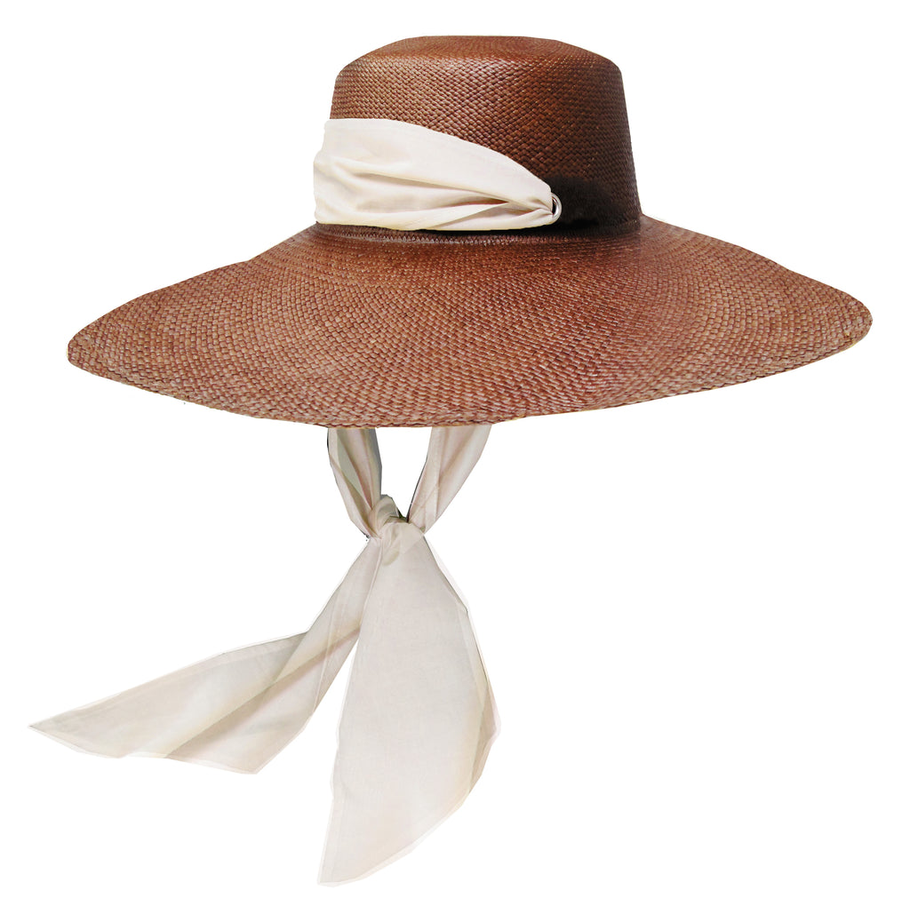 Extra Long Brim Cordovez with Adjustable Fabric